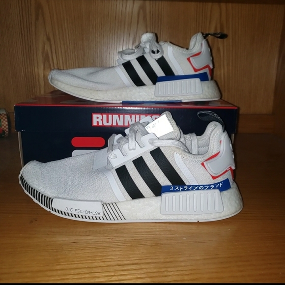 Adidas Shoes Nmd R1 Japan White Colorblock Poshmark